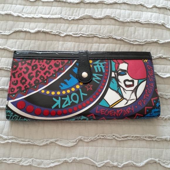 Limited Edition Patricia Fields Graffiti clutch